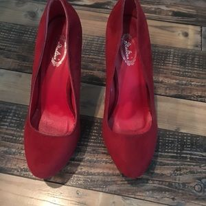 Shoes - Red high heels